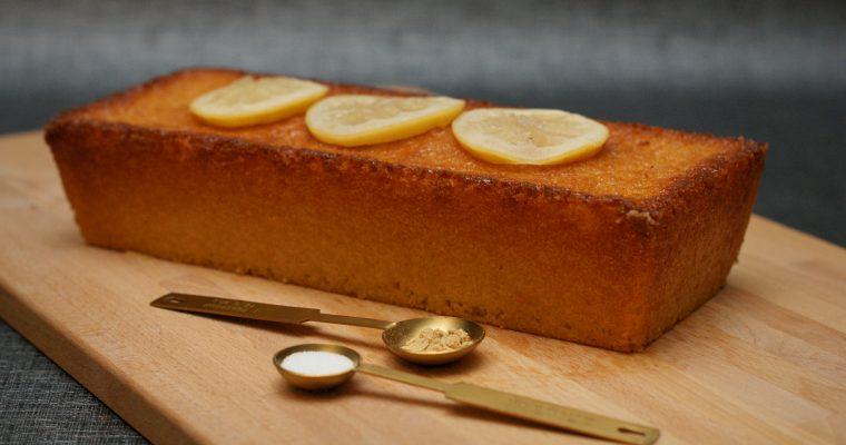 Cake au Citron et au Gingembre