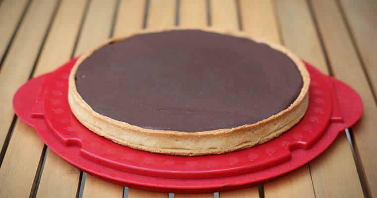 Tarte Chocolat Caramel Cacahuètes