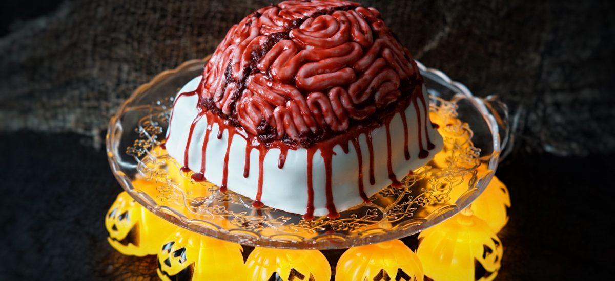 Gateau Cerveau d'Halloween