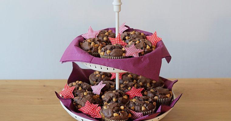 Muffins au Chocolat et Pépites au Caramel (Butterscotch)