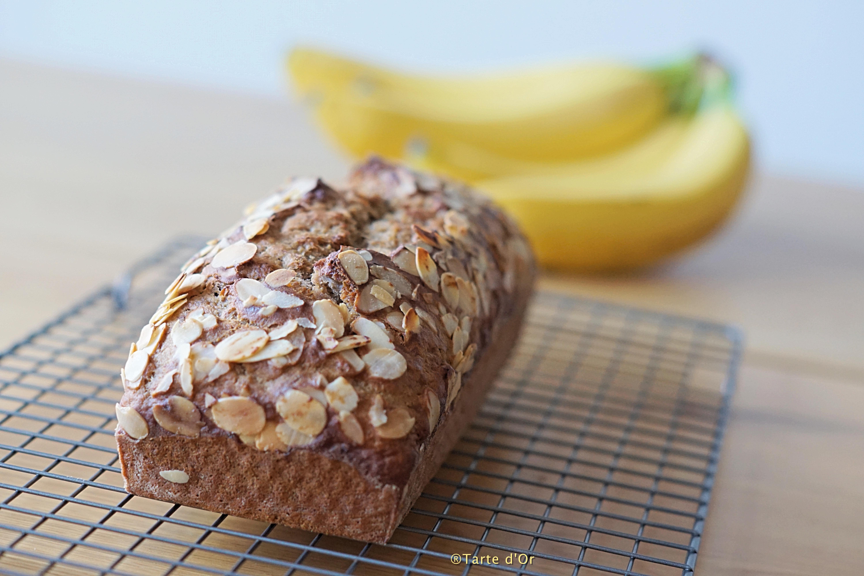 Cake a la banane vegan