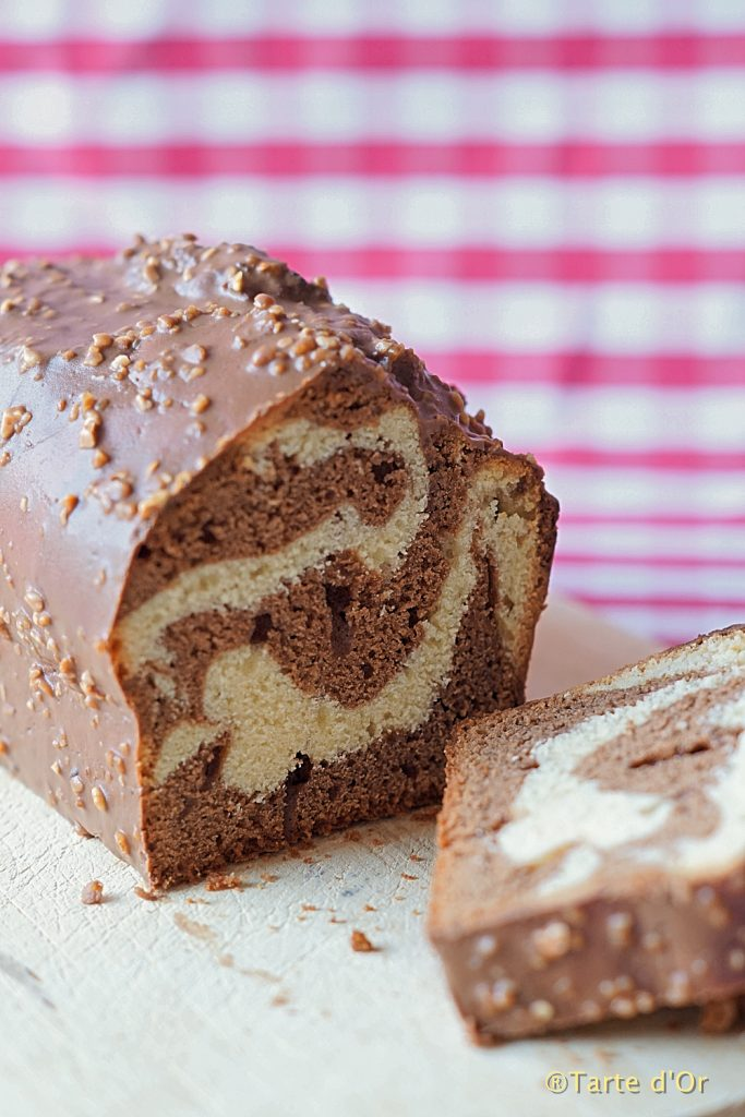 Marbled Chocolate Cake
